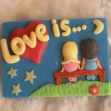 """Форма силиконовая """"Любовь - это..."""""""