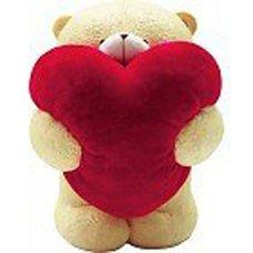 """Форма силиконовая """"Медведь с большим сердцем"""""""