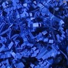 Стружка гофрированная синяя