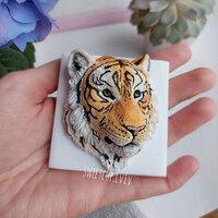 """Форма силиконовая """"Тигр"""""""