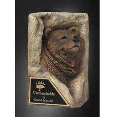 """Форма силиконовая """"Медведь в камне"""""""