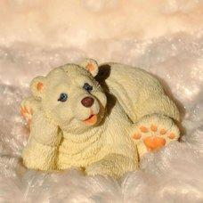 """Форма силиконовая """"Белый медведь Гриша"""""""