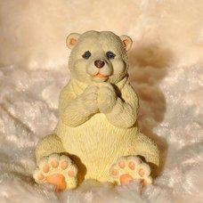 """Форма силиконовая """"Белый медведь Тимка"""""""